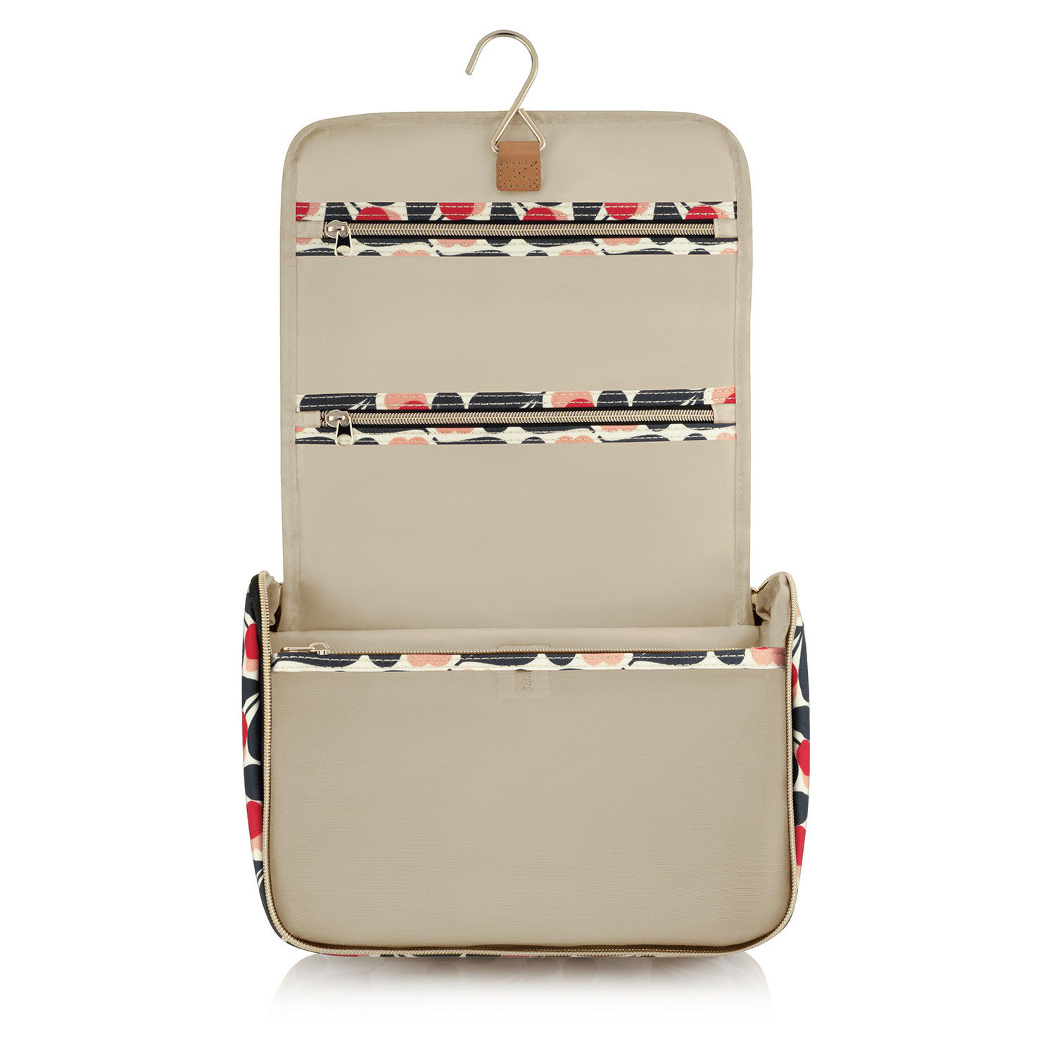 Orla Kiely – Sycamore Seed Collection Large Hanging Toiletry/Washbag