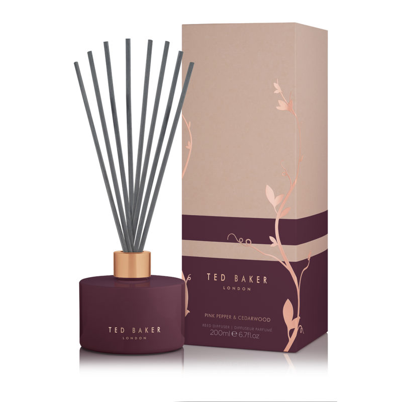 Ted Baker – DIFISE Pink Pepper & Cedarwood Scented Diffuser in Presentation Box