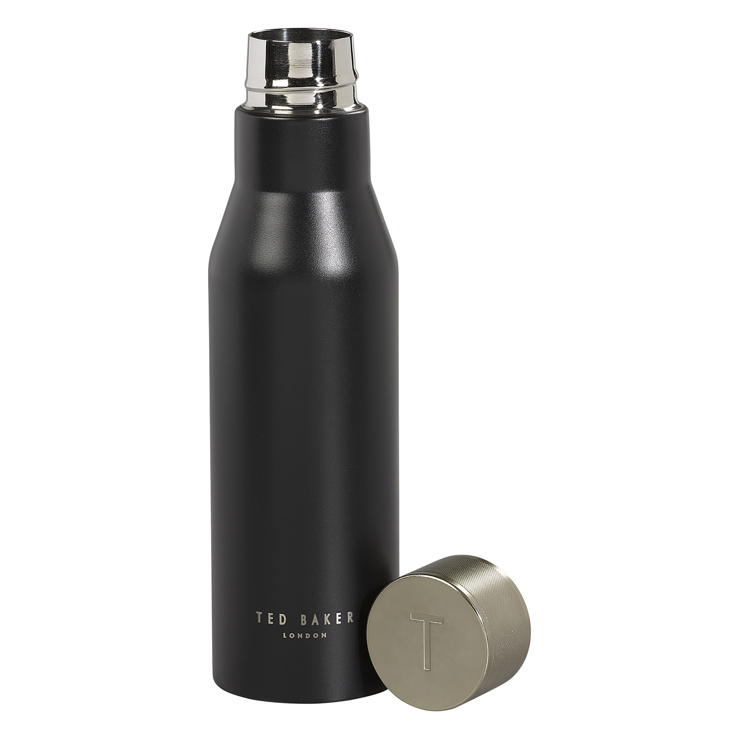 Ted Baker – Black Onyx Stainless Steel Insulated Water Bottle