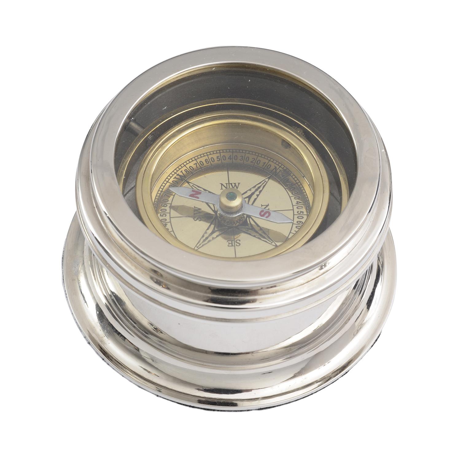 Libra – Brass and Nickel Compass