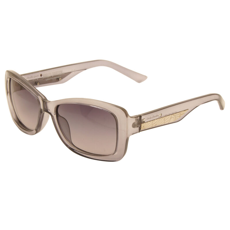 Harley Davidson – Crystal Purple/Diamante Classic Style Sunglasses with Case