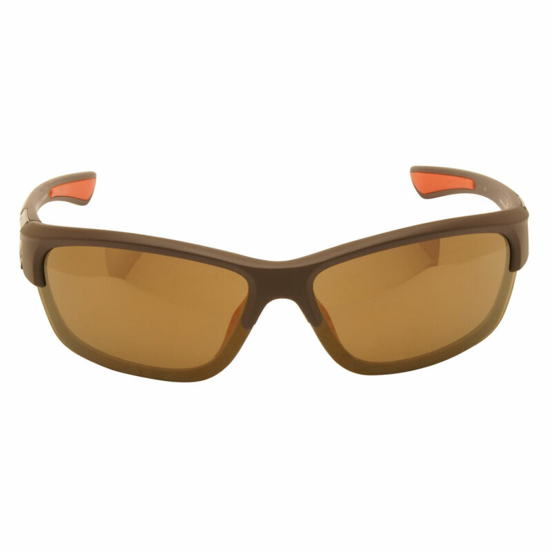 Harley Davidson – Matt Brown Wraparound Style Sunglasses with Case