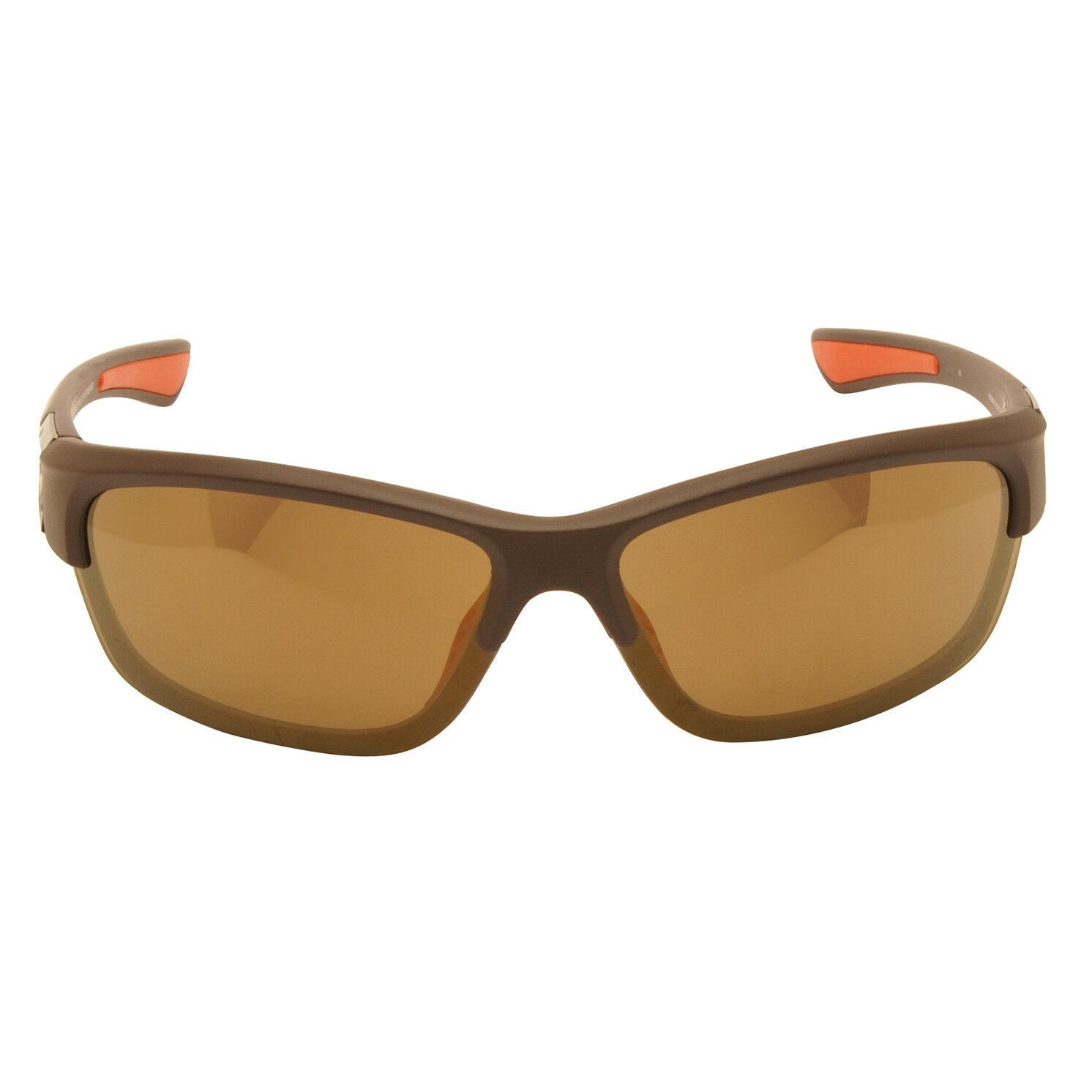 Harley Davidson – Matt Brown Wraparound Style Sunglasses with Case