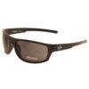 Harley Davidson – Matt Brown Tortoiseshell Wraparound Style Sunglasses with Case