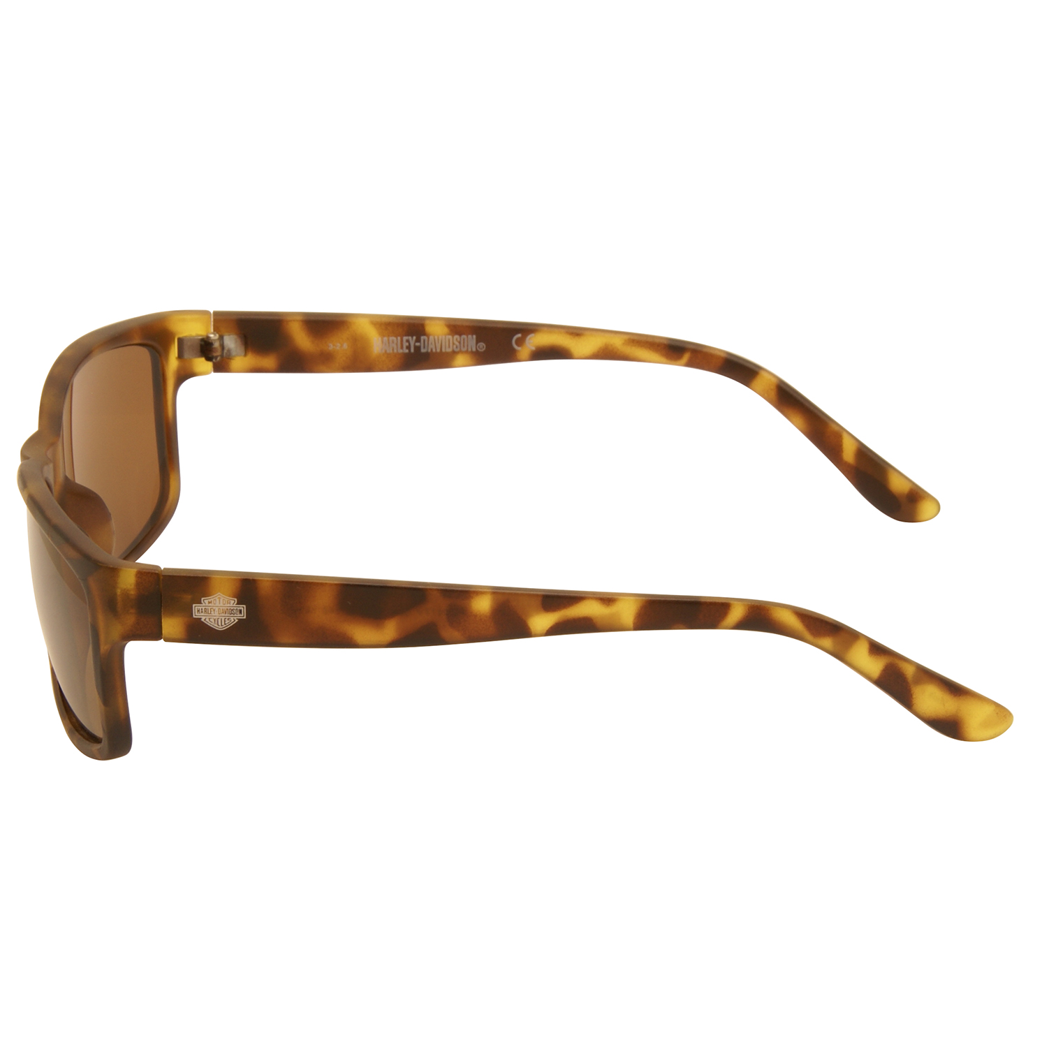Harley Davidson – Matt Brown Camouflage Classic Style Sunglasses with Case