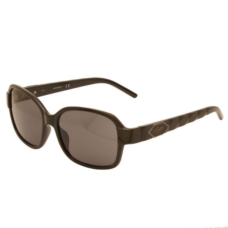 Harley Davidson – Shiny Black Classic Style Sunglasses with Case