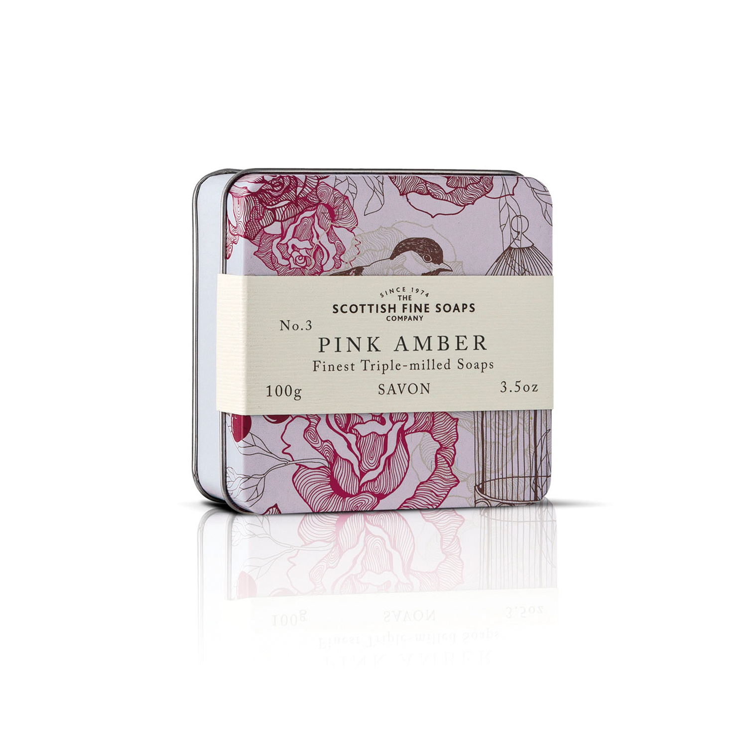 The Scottish Fine Soaps Company – Set of 4 Assorted Vintage Soaps in Gift Tins