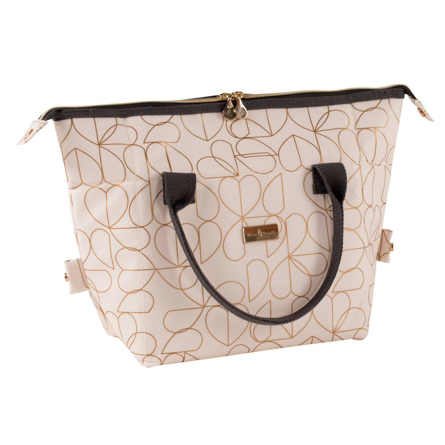 Beau & Elliot – Cream Oyster 2 in 1 Convertible Insulated Lunch Bag