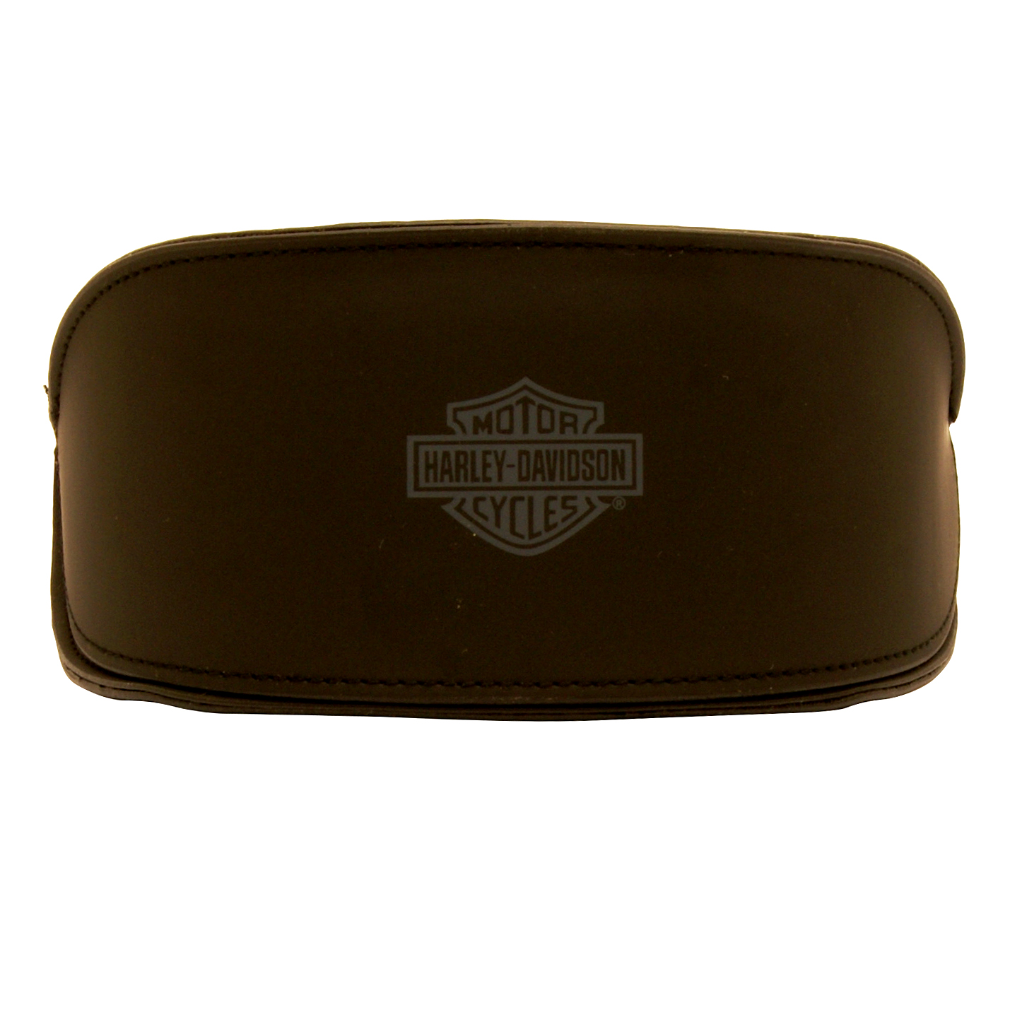 Harley Davidson – Shiny Black & Diamante Wraparound Style Sunglasses with Case