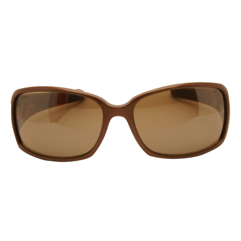 Harley Davidson – Metallic Brown & Diamante Wraparound Sunglasses with Case