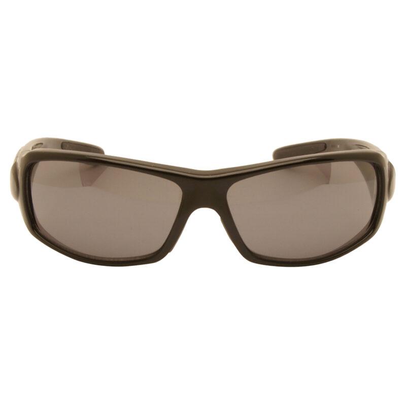 Harley Davidson – Shiny Black & Diamante Wraparound Style Sunglasses with Case