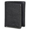 Stanley Tools – Black & Tan Bi-Fold Leather Wallet in Metal Presentation Tin