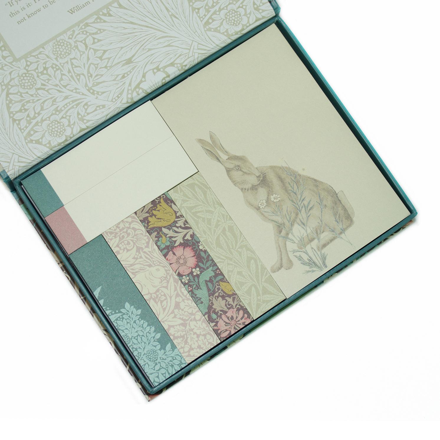 Morris & Co – Compton Print 7 Sticky Notes Designs Set
