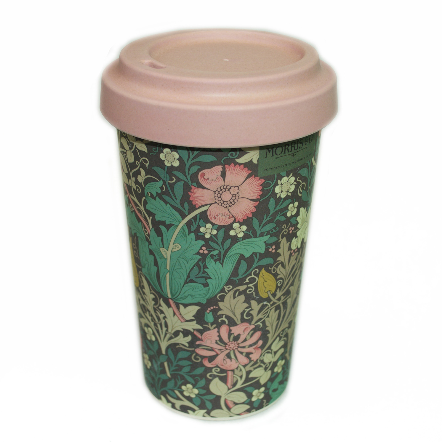 Morris & Co – Compton Print Eco Friendly Bamboo Thermal Travel Tumbler/Mug
