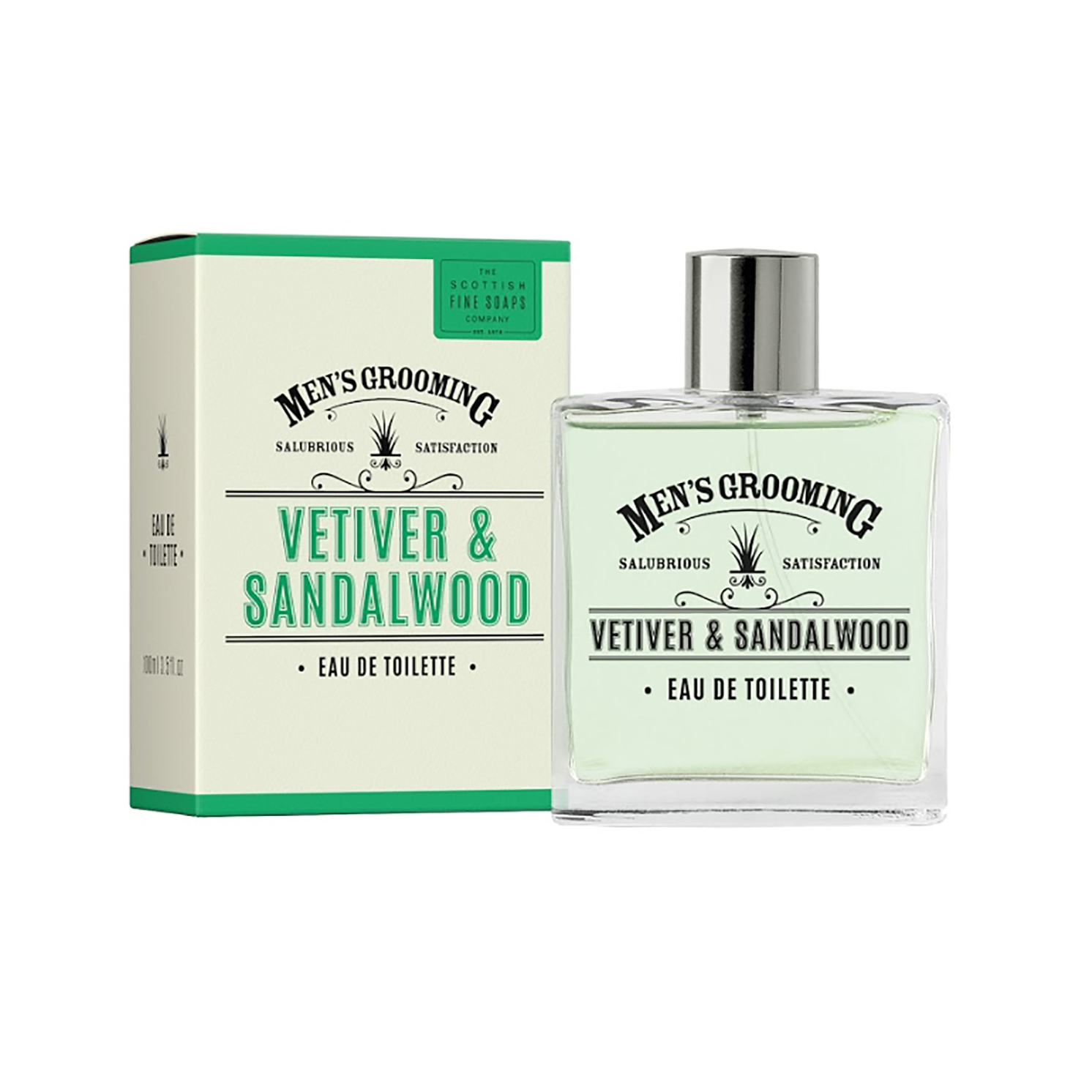 The Scottish Fine Soaps Company – Vetiver & Sandalwood Eau De Toilette