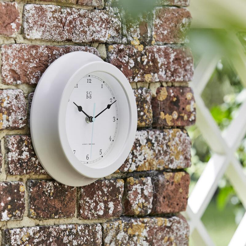 Burgon & Ball – Sophie Conran Buttermilk Garden Clock in Gift Box