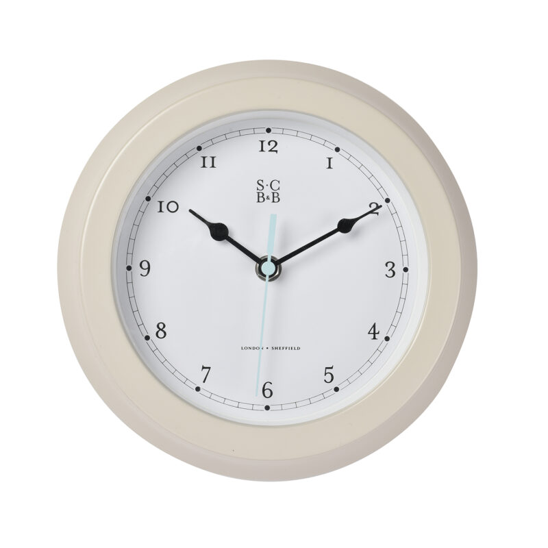 Burgon & Ball – Sophie Conran Buttermilk Garden Clock in Gift Box