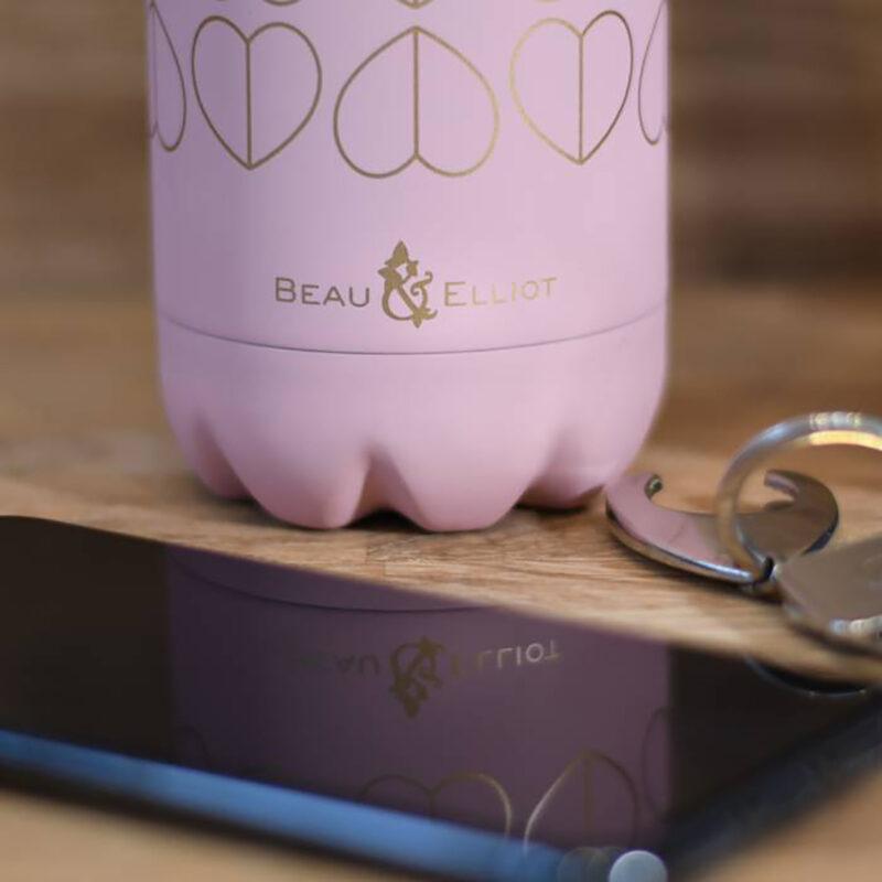 Beau & Elliot – Pink Blush Vacuum Insulated Stainless Steel Drinks Bottle