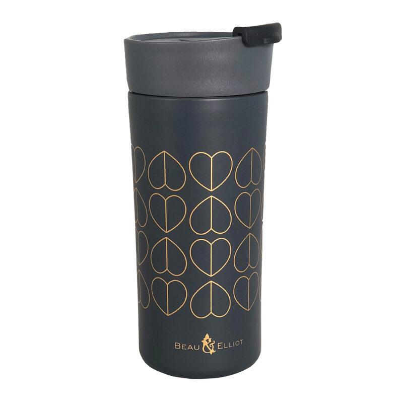 Beau & Elliot – Dove Grey Vacuum Insulated Stainless Steel Grande Travel Mug