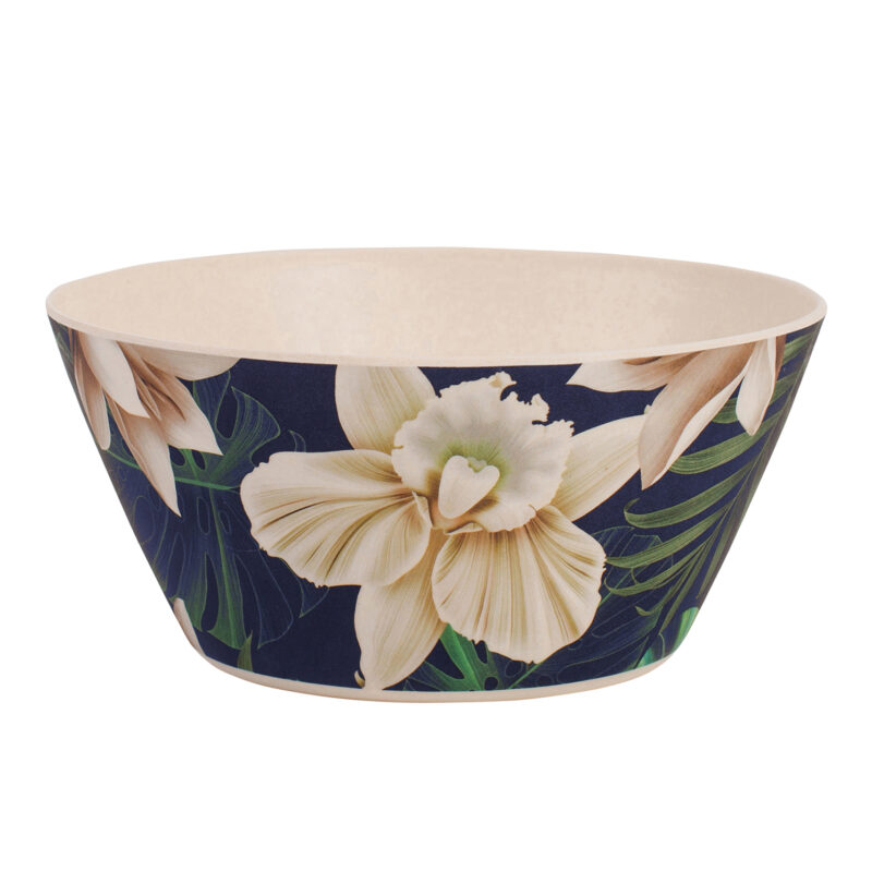 Navigate – Summerhouse 'Java' Bamboo Decorated Bowl
