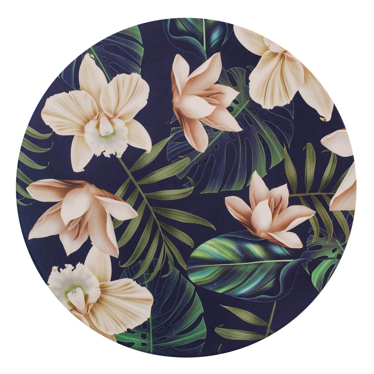 Navigate – Summerhouse 'Java' Bamboo Decorated Dinner Plate