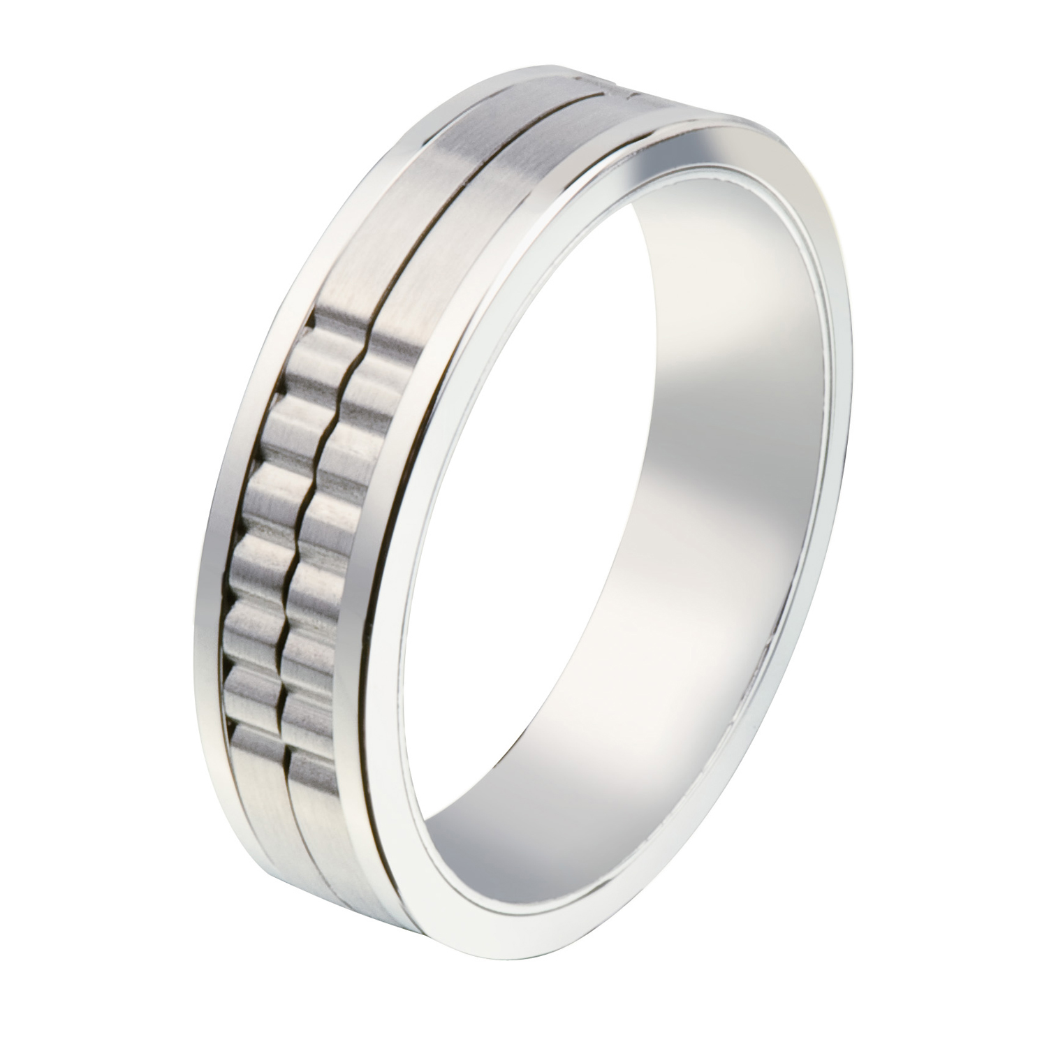 Jos Von Arx – Arx Movable Groove Ring in Presentation Gift Box