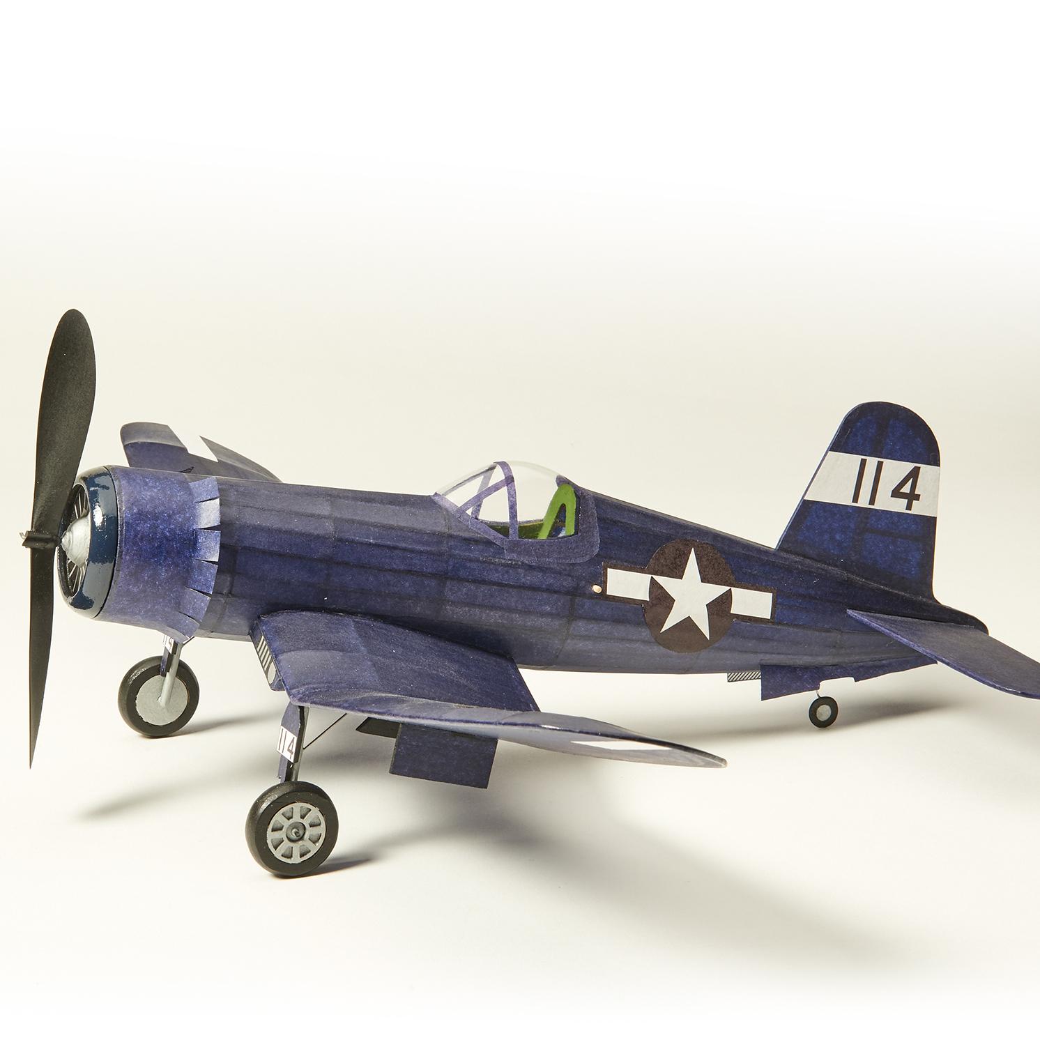 The Vintage Model Company – Vought F4U Corsair Balsa Wood Kit
