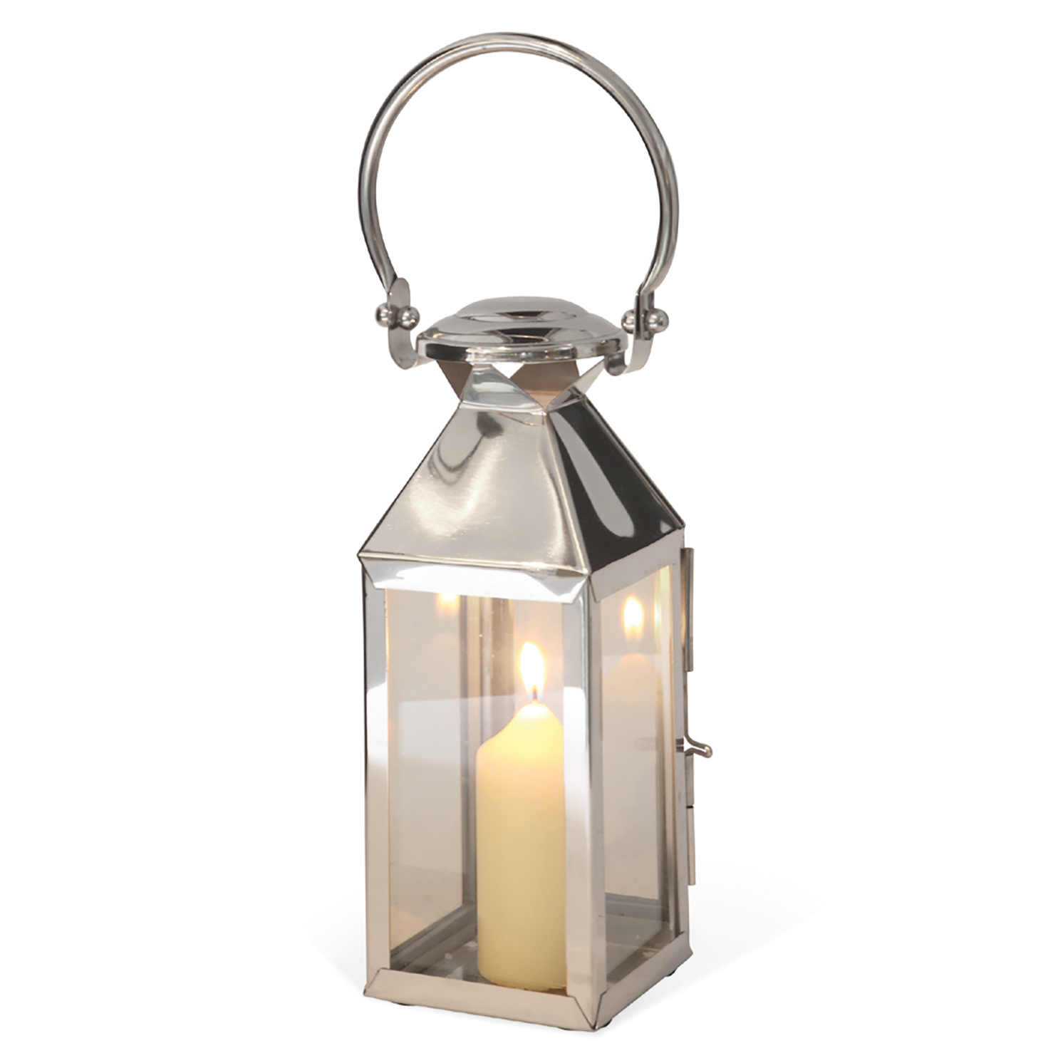 Culinary Concepts – Extra Small Stainless Steel Freestanding Chelsea Lantern