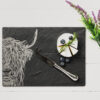 The Just Slate Company – Small Slate Antipasti Serving Tray with Chilli Handles