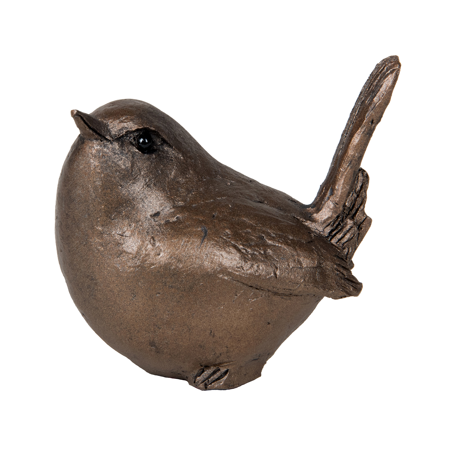 Frith Sculpture – Garden Bird in Bronze Resin by Thomas Meadows in Gift Box