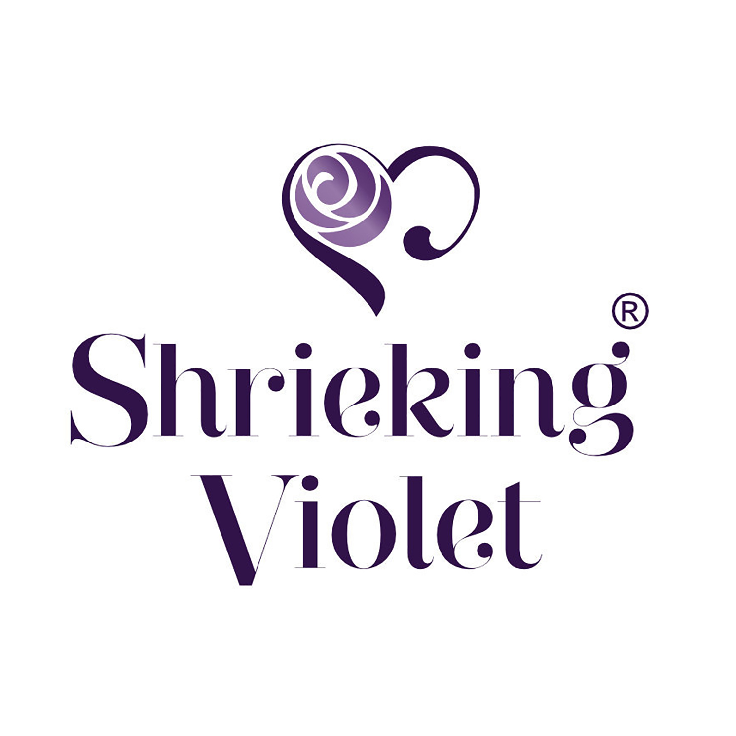 Shrieking Violet – Rse Bud Sterling Silver Round Adjustable Ring in Box
