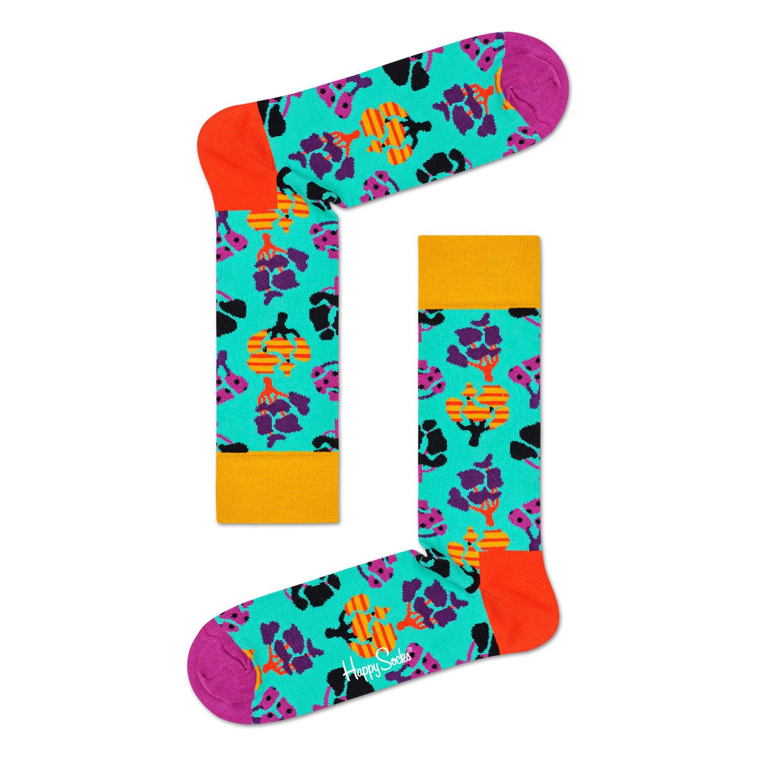 Happy Socks – Set of 4 Pairs of Day In The Park Socks in Presentation Gift Box