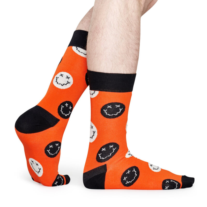 Happy Socks – Set of 3 Pairs of Spooky Socks in Coffin Presentation Gift Box