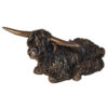 Frith Sculpture – Mischief Cockapoo Playing in Bronze Resin in Gift Box