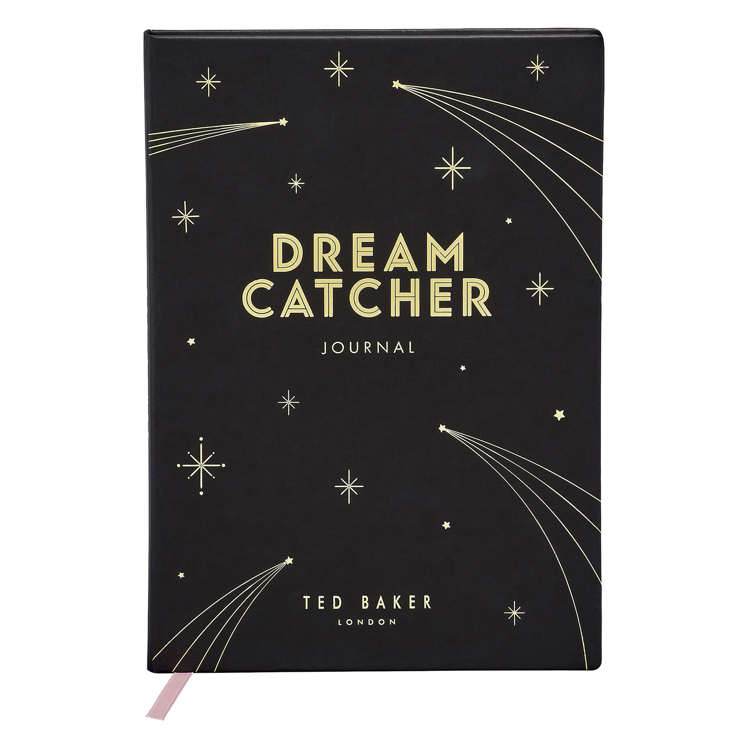 Ted Baker – Black A5 Dream Catcher Journal with Gold Foil Details