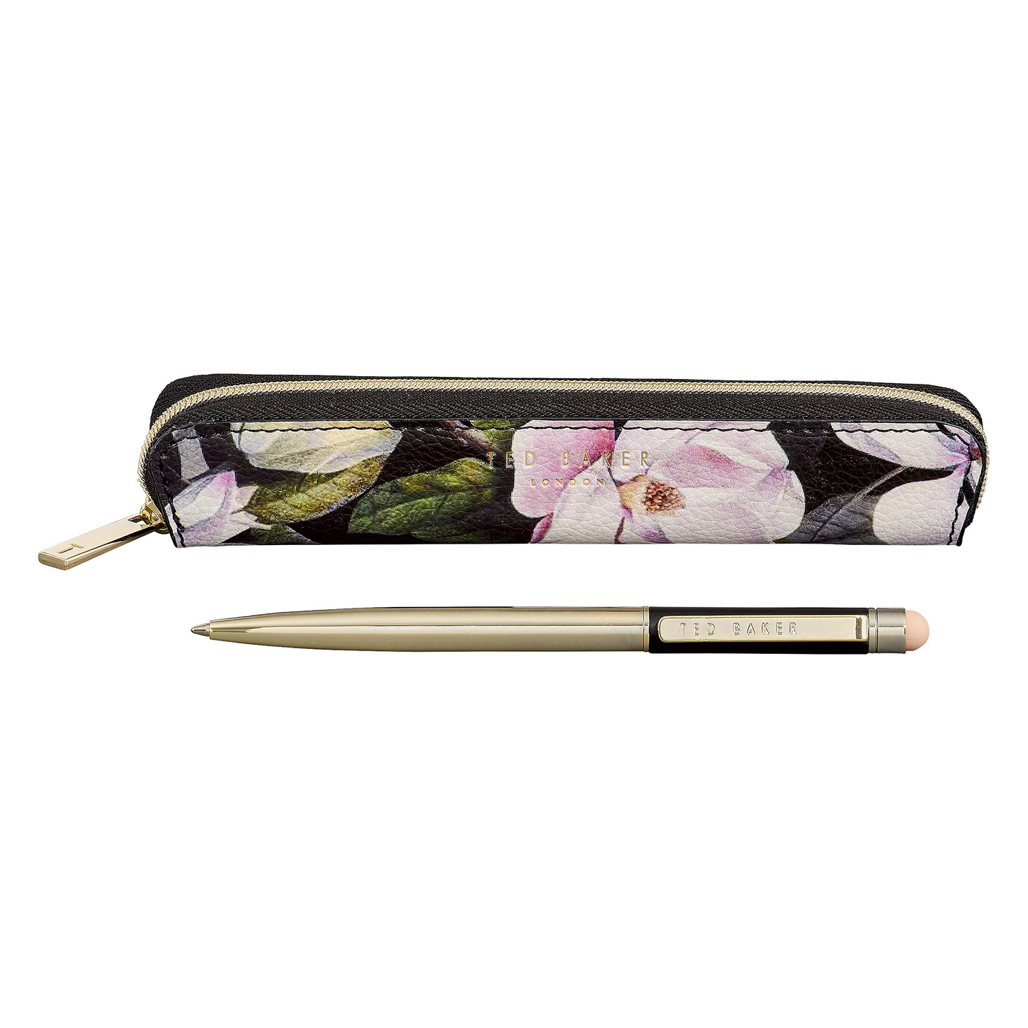 "Ted Baker – Black Opal Touchscreen Pen with Case in ""Truly Gifted"" Gift Box"