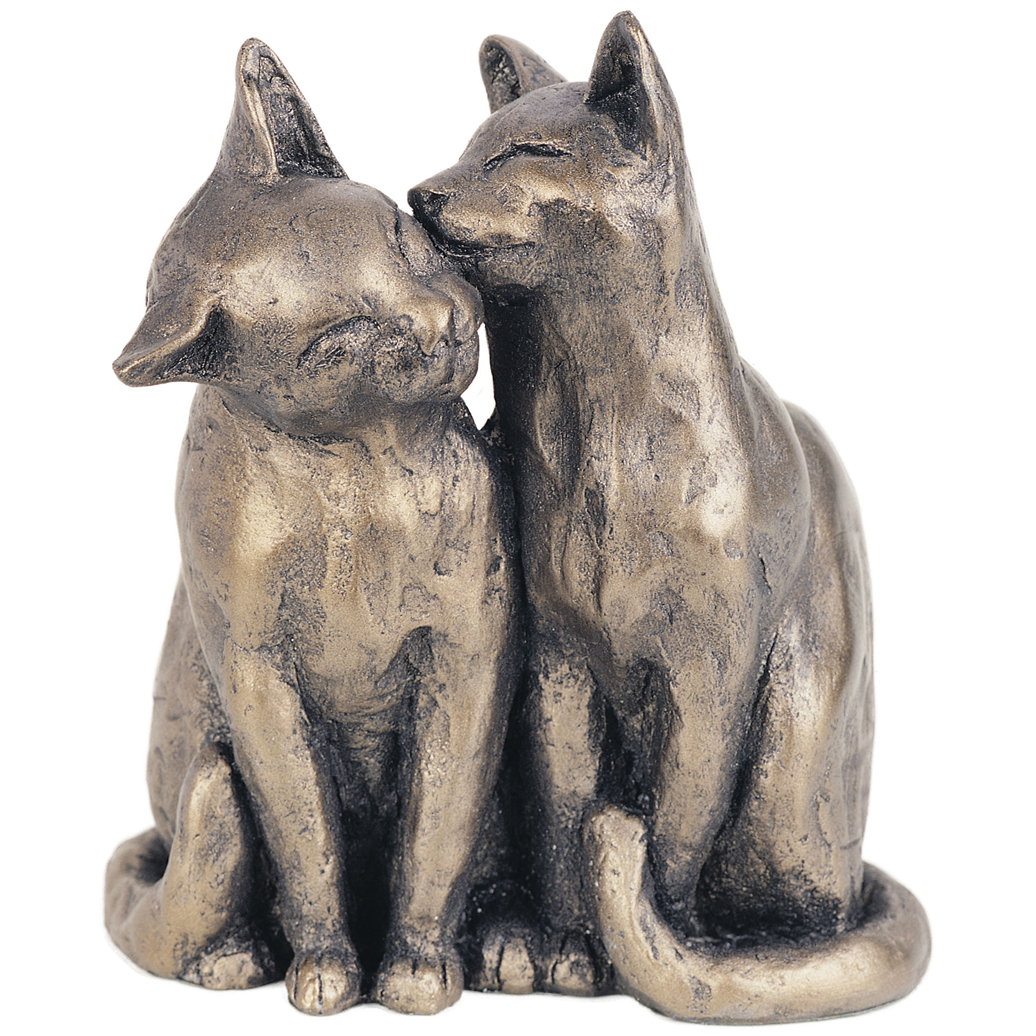 Frith Sculpture – Yum Yum and Friend in Bronze Resin by Paul Jenkins in Gift Box