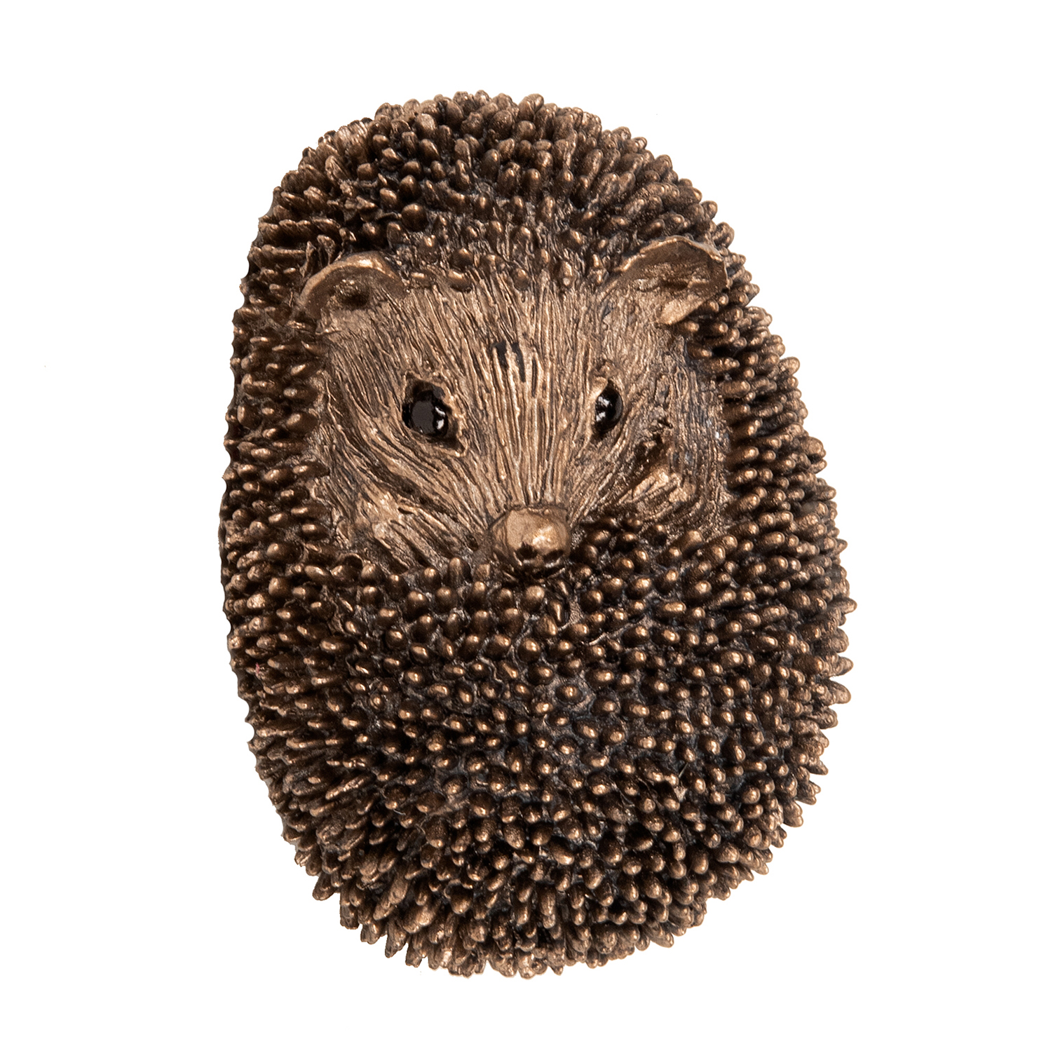 Frith Sculpture – Zippo – Baby Hedgehog Asleep in Bronze Resin by Thomas Meadows