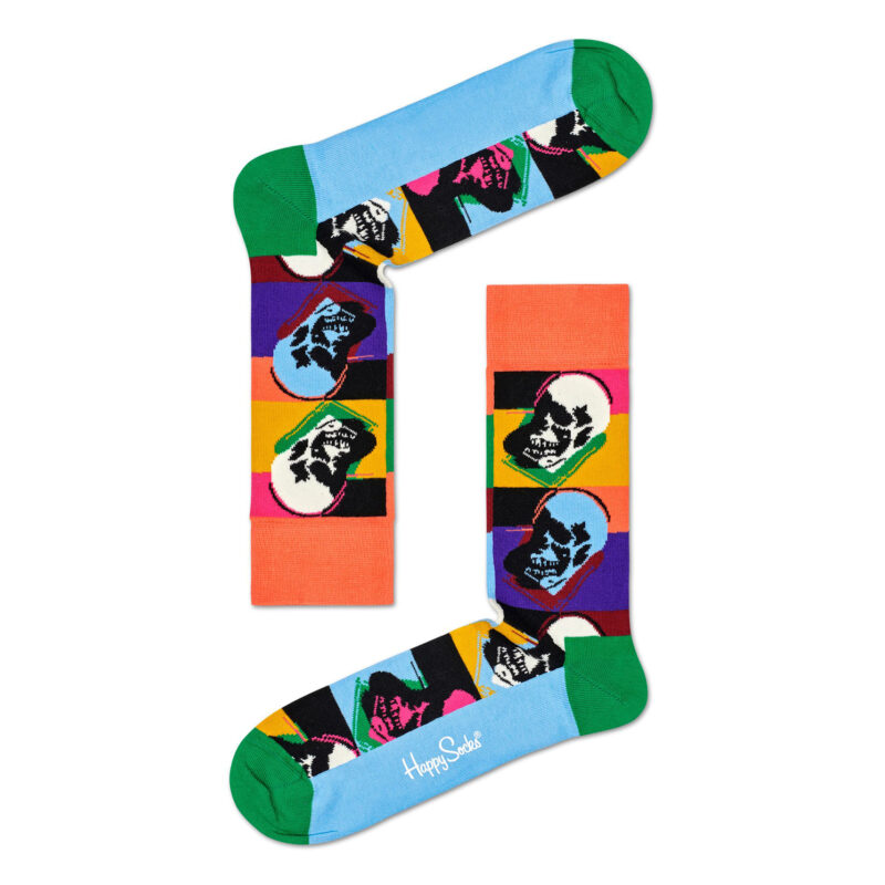Happy Socks – Andy Warhol Skull Sock