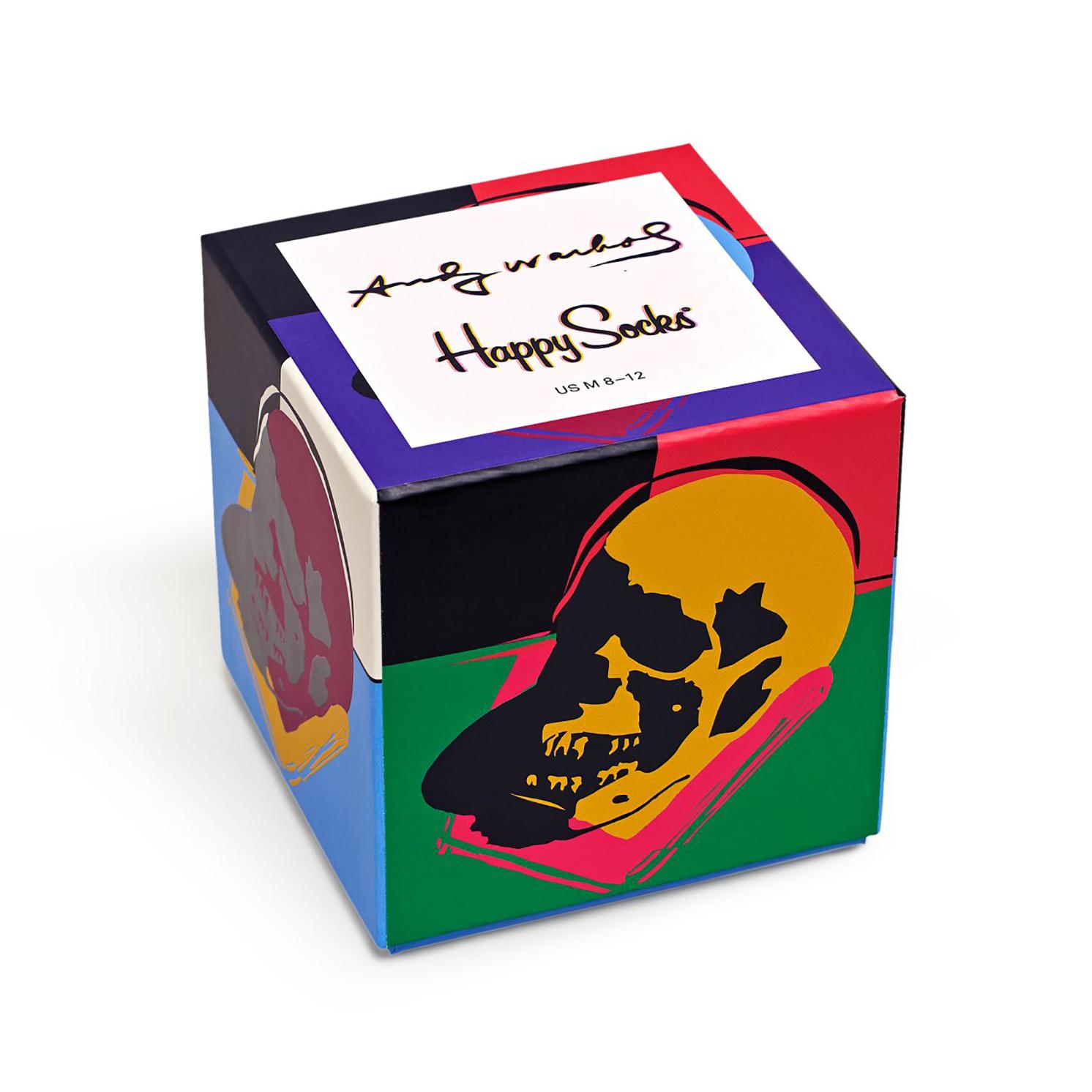 Happy Socks – Set of 3 Pairs of Andy Warhol Socks in Presentation Gift Box
