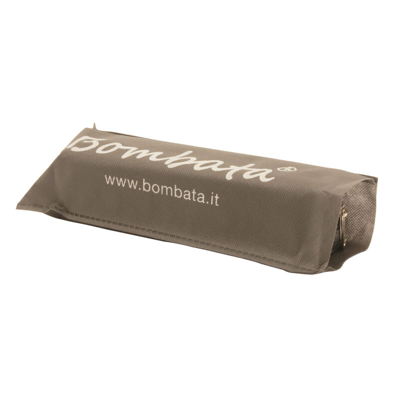 Bombata – Charcoal Grey Classic Pen/Pencil Case with Zip Closure