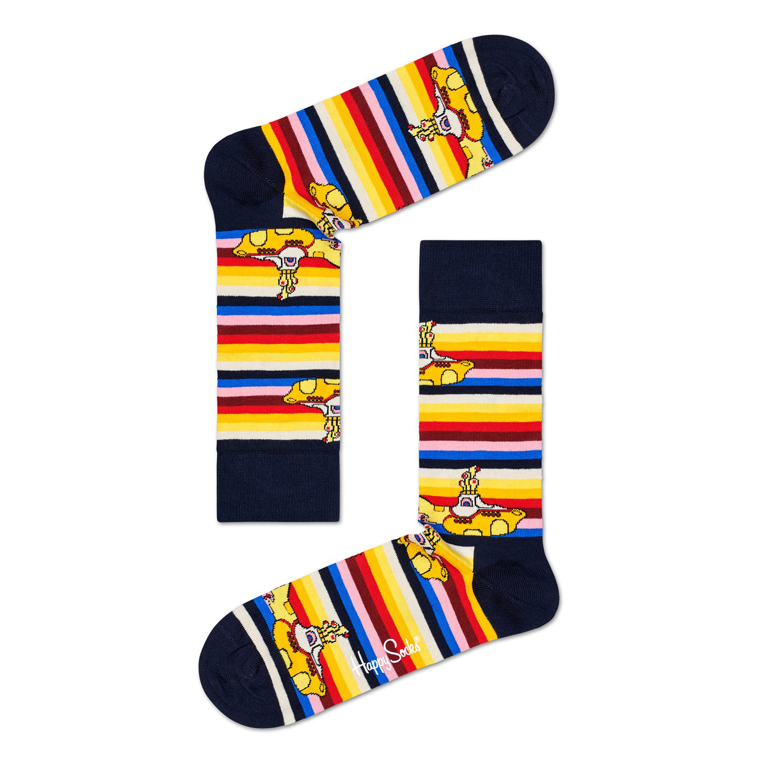 Happy Socks – 6 Pairs of The Beatles Socks in The Collector Box Set