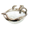 Culinary Concepts – Mini Octopus Stand and Crackled Glass Bowl in Gift Box
