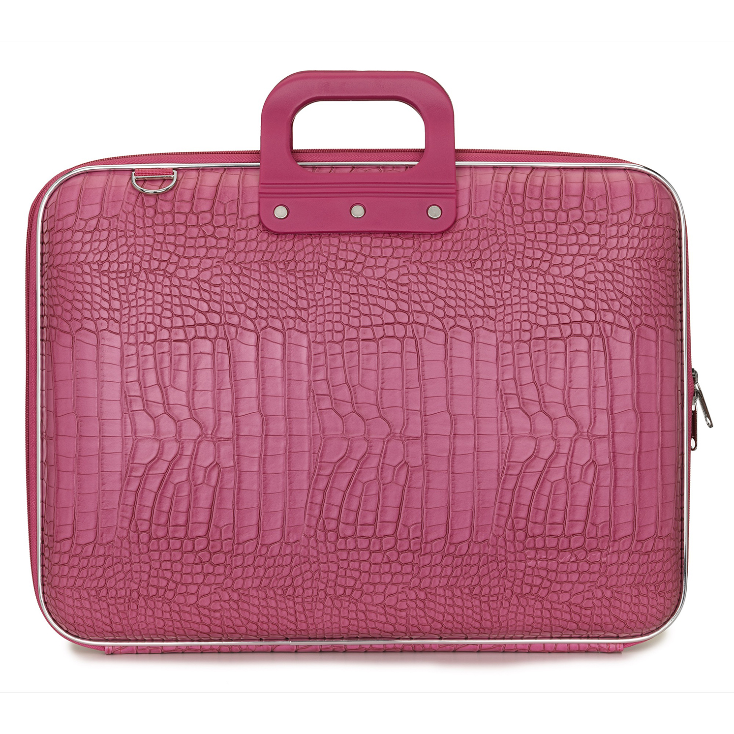 Bombata – Pink Maxi Cocco 17″ Laptop Case/Bag with Shoulder Strap