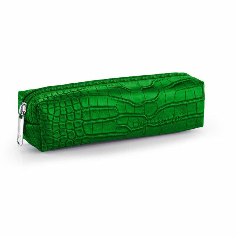 Bombata – Green Cocco Pen/Pencil Case with Zip Closure