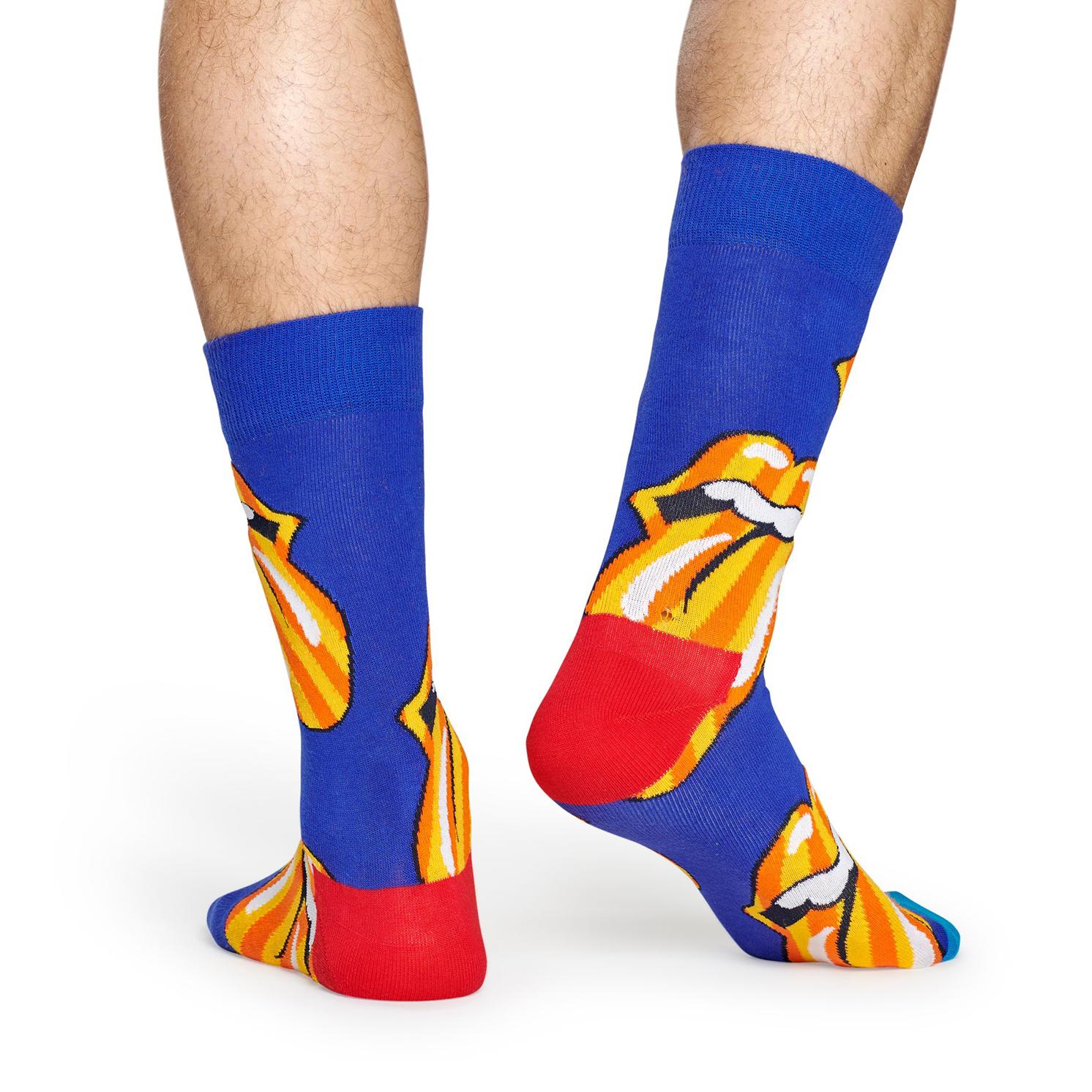 Happy Socks – Rolling Stones Tumbling Stripes Sock