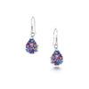 Shrieking Violet – Purple Haze Sterling Silver Heart Pendant Necklace in Box