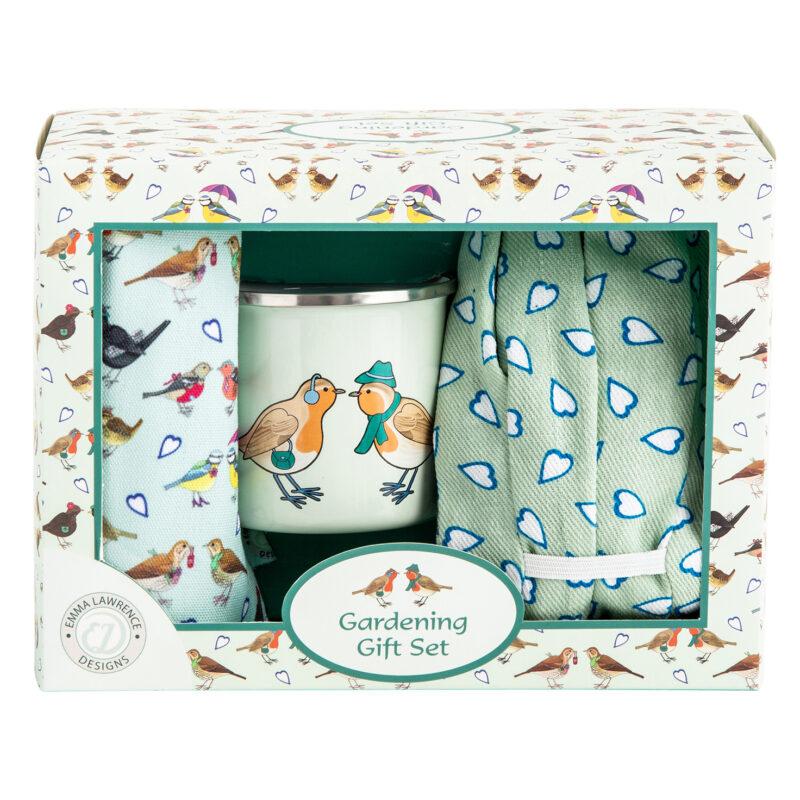 Emma Lawrence – I Love Birds Gardening Boxed Gift Set