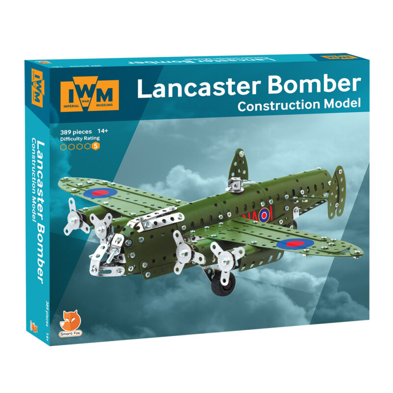Imperial War Museums – Lancaster Bomber Construction Model Set in Box