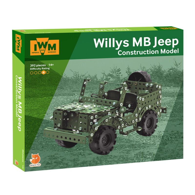 Imperial War Museums – Willys MB Jeep Construction Model Set in Box